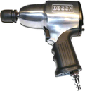 """Magnesium Pistol Impact wrench, max: 850 Nm, 4500 rpm, 3/4"""" square drive, extended anvil, R/L, 13 lbs. For M27 screws."""